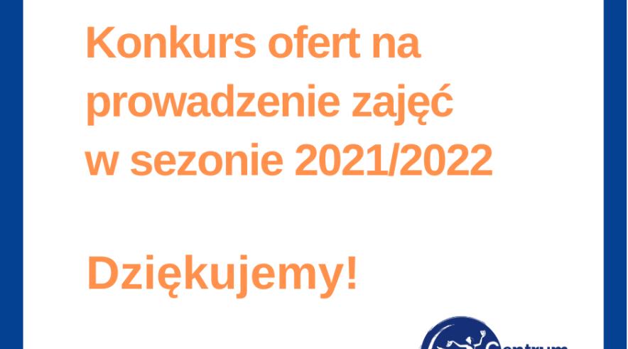 Konkurs ofert 2021/22