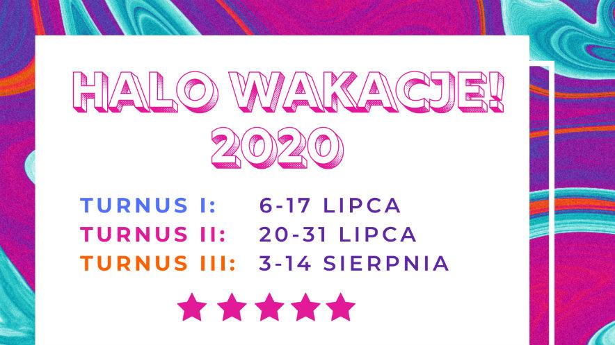 Halo Wakacje 2020